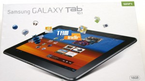 Samsung GALAXY Tab 10.1 İncelemesi