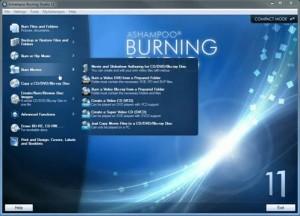 Ashampoo Burning Studio 11 İle Facebook'tan Veri Yazdırma