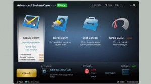 Advanced SystemCare Kurulumu ve Program İçi Görüntüleri