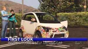 GTA 5'te Google'ın Sürücüsüz Otomobilini Hunharca Trollediler!