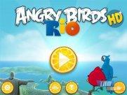 Angry Birds Rio Açılış Ekranı