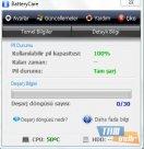 BatteryCare Ana Ekran