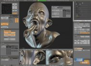Blender 3D Editör