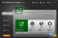 IObit Malware Fighter Free Ana Ekran