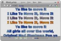 MiniLyrics Şarkı Sözleri