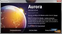 Mozilla Firefox Aurora Ekran Görüntüsü