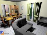 Sweet Home 3D Dekorasyon