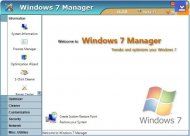 Windows 7 Manager Arayüzü