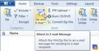 WinZip E-posta İlişkilendirme Özelliği