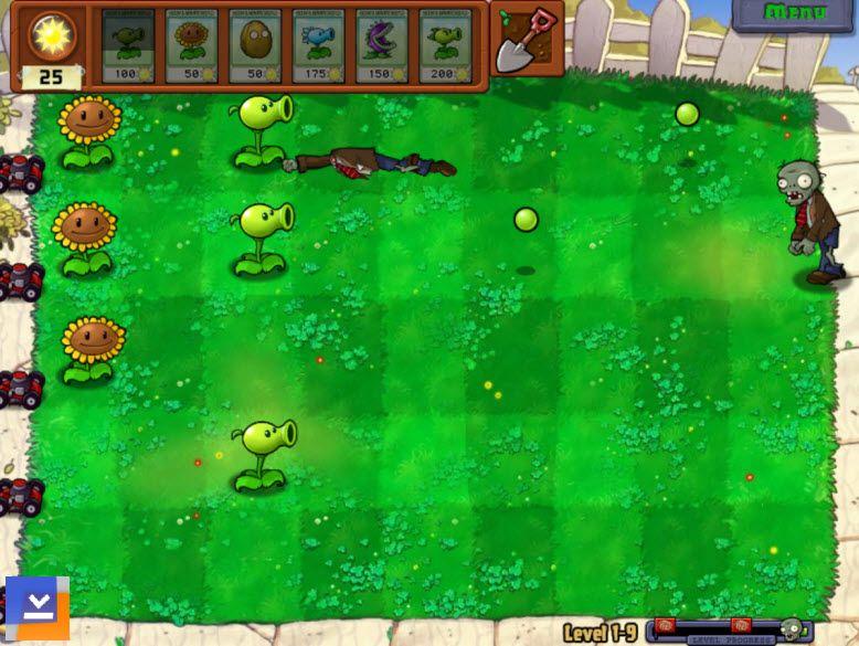 Plants vs zombies ekran görüntüleri