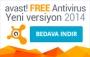 avast! Free Antivirüs 2014 Yayınlandı