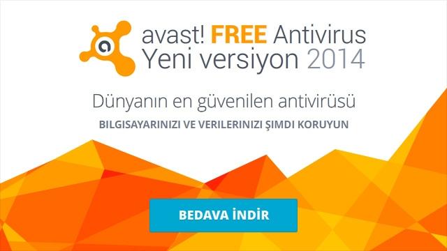 avast! Free Antivirüs