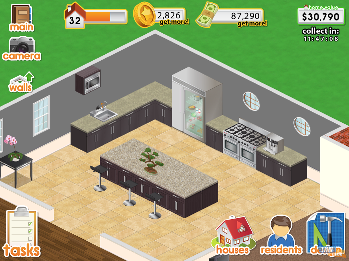 Design this home indir android için ev tasarım simulasyonu
