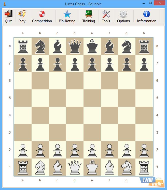 Lucas chess uygulaması satranç oynamak istediğinizde size eşlik