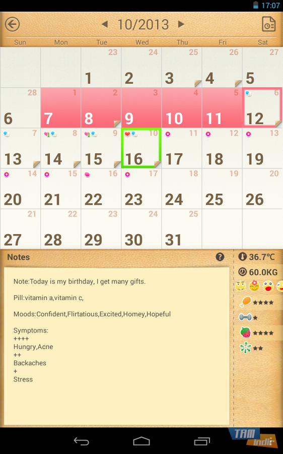 picture calendar