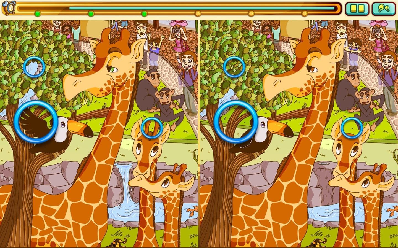 лучшие игры на поиск отличий на картинках время