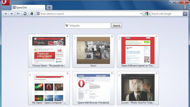 Opera nın geliştiricileri tarayıcının 25 0 sürümünü