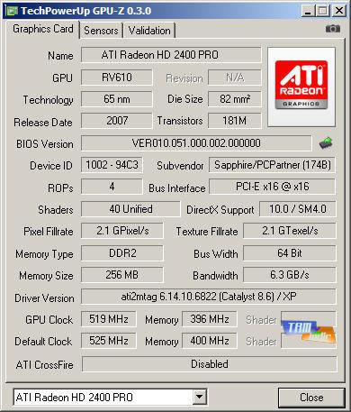 GPU-Z Ana Ekran