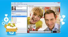 Skype 4.0.0.215 Sesli ve Görüntülü Konuşma Programı