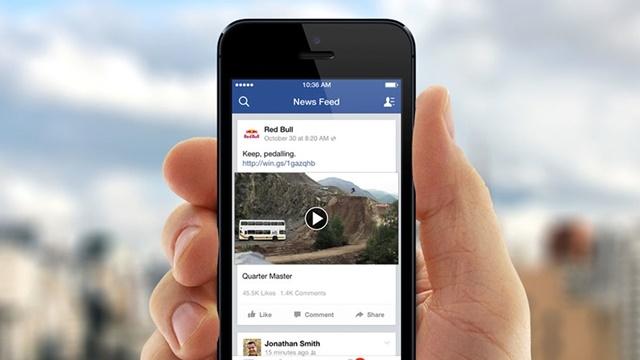 Facebook Otomatik Oynatma