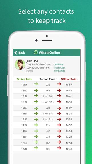 iphone whatsapp online takip