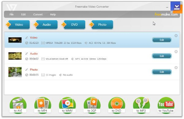 freemake video converter tmndr Freemake Video Converter Video Düzenleme Programı İndir