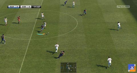PES 2011 Ekran Görüntüsü