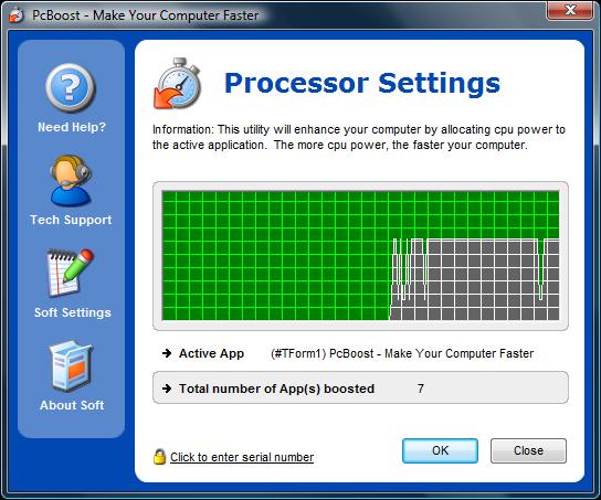PCBoost İşlemci Arayüzü