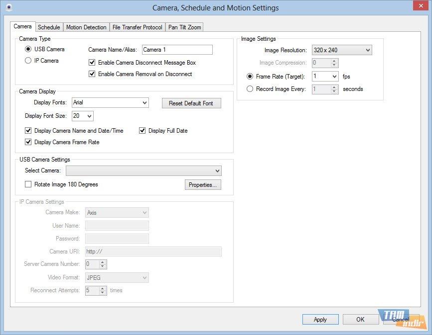 Camera Viewer Pro İndir - Web Kamerası Kayıt Programı - Tamindir