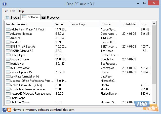 free pc audit