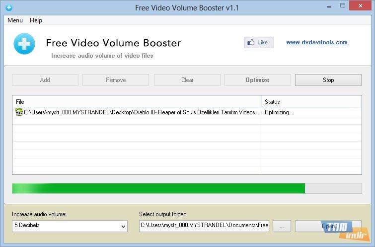 free video volume booster ndir videolar i in ses seviyesi artt rma program tamindir. Black Bedroom Furniture Sets. Home Design Ideas