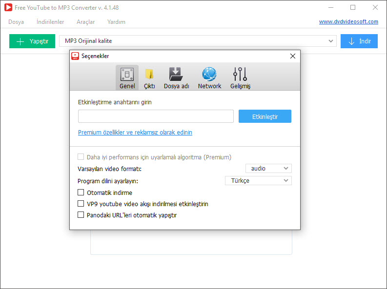 activation key for free video to mp3 converter