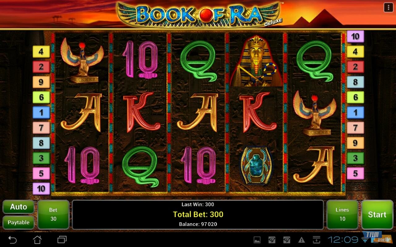 book of ra game twist