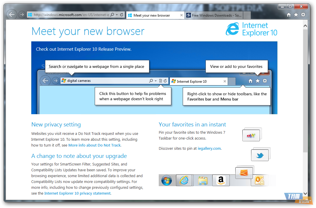 how to use internet explorer 10