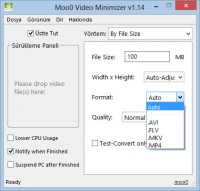 Moo0 Video Minimizer
