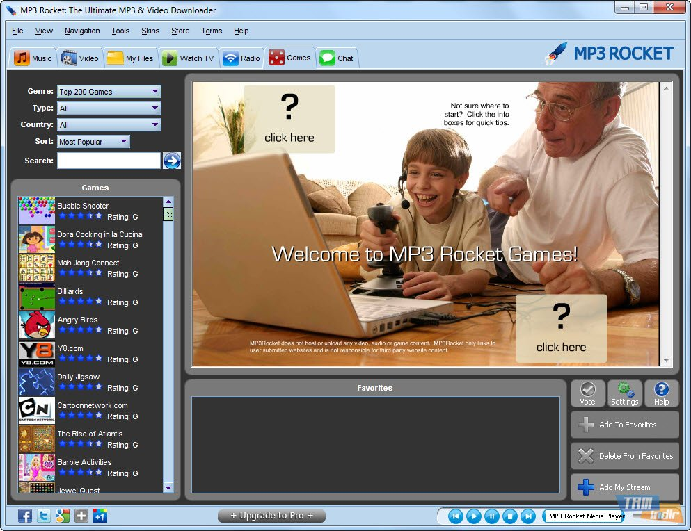 MP3 Rocket 7.1.1 (free) - Download latest version in English on ...