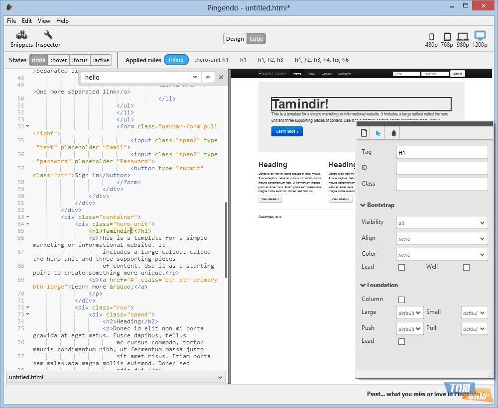 Bir HTML dosyası nasıl açılır: basit araçlar