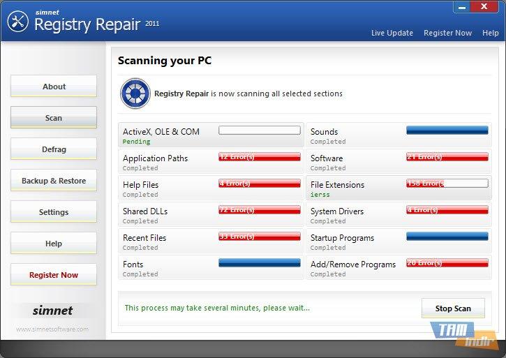 Simnet registry repair key generator