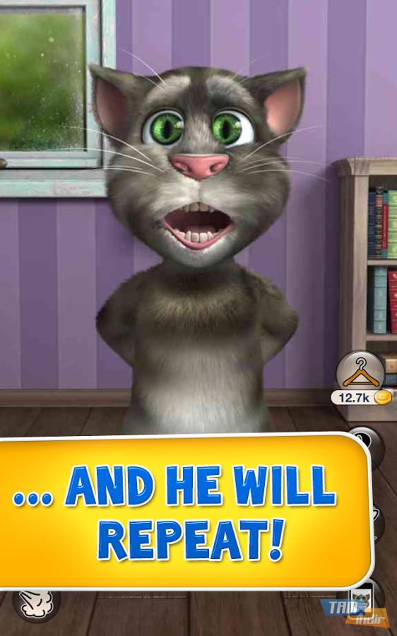 Talking tom cat 2 ndir android 231 in e lenceli kedi uygulamas