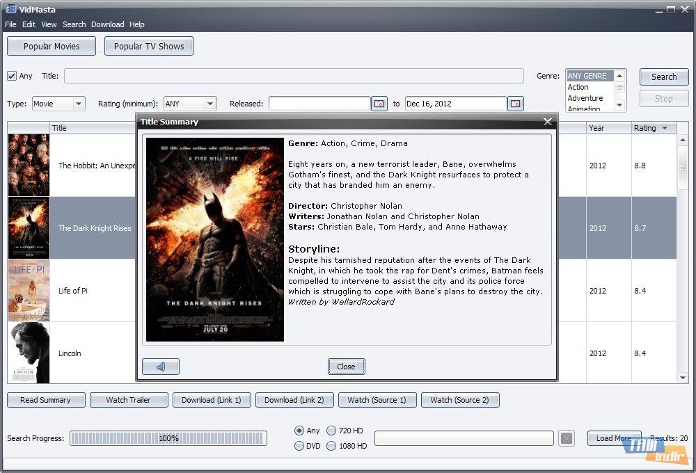 p film izle video indirme programı indir