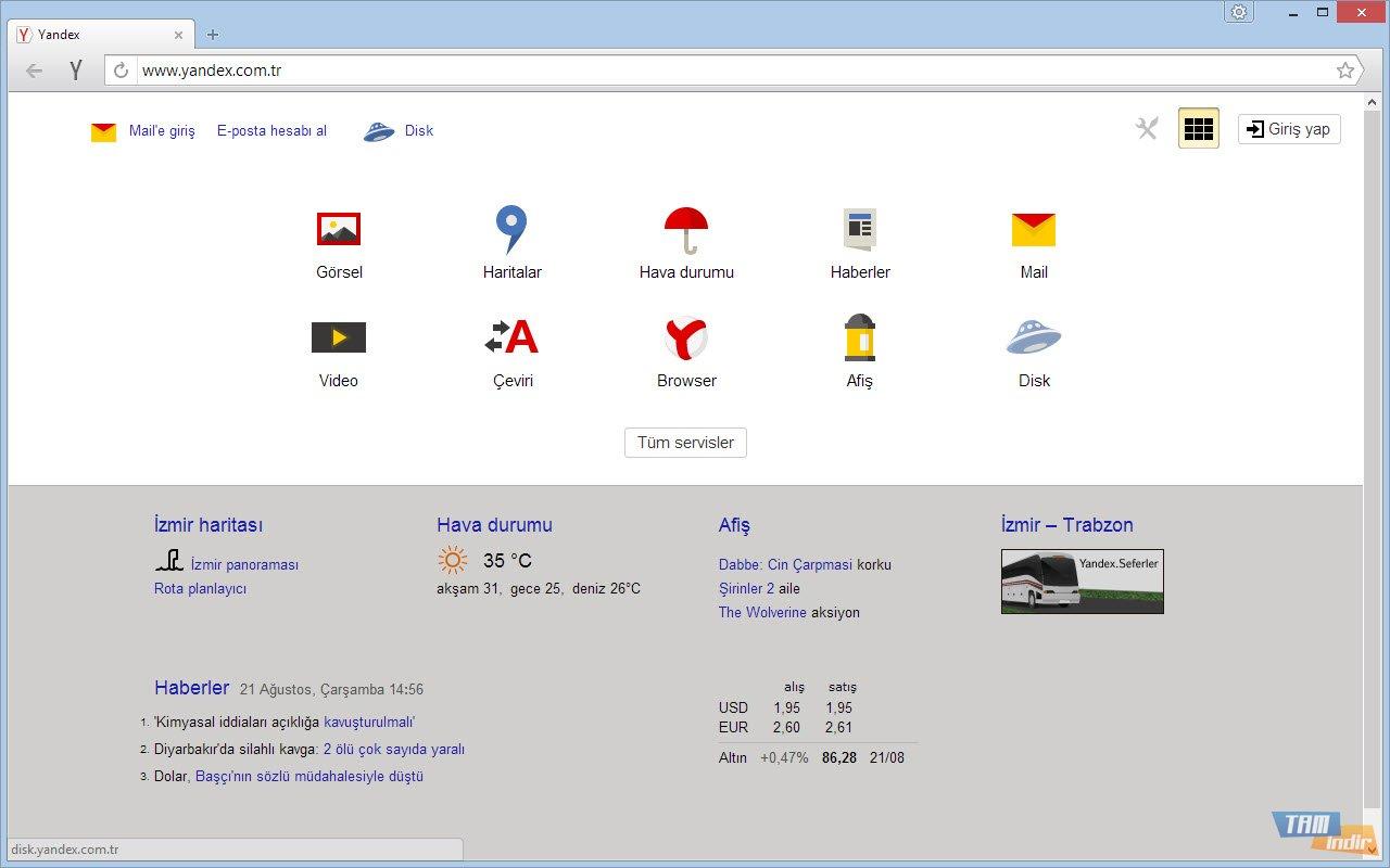 Yandex Browser İndir - Hızlı ve Sade İnternet Tarayıcısı - Tamindir