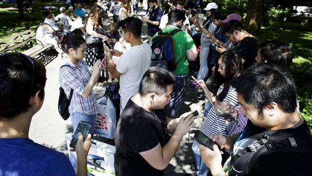 Pokémon GO singapur