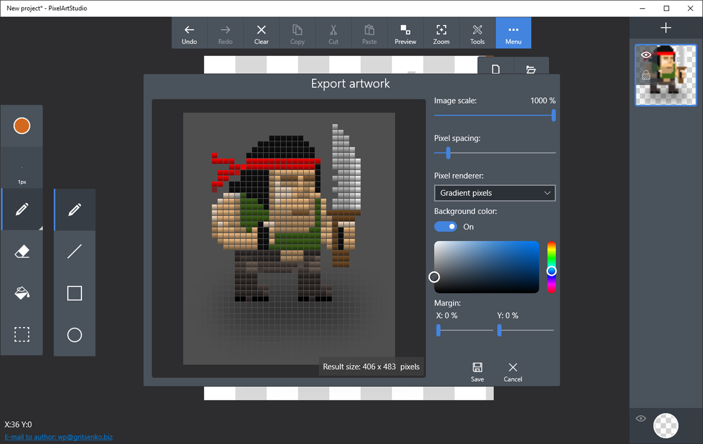 Pixel Art Studio Ndir Windows 10 I In Izim Uygulamas
