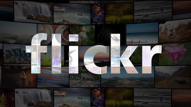 Paylaşma ve saklama işlevleriyle kullanılan sosyal ağ flickr