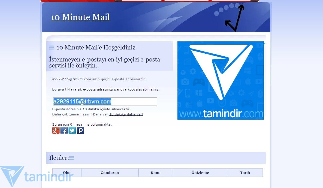 10 Minuten Mail