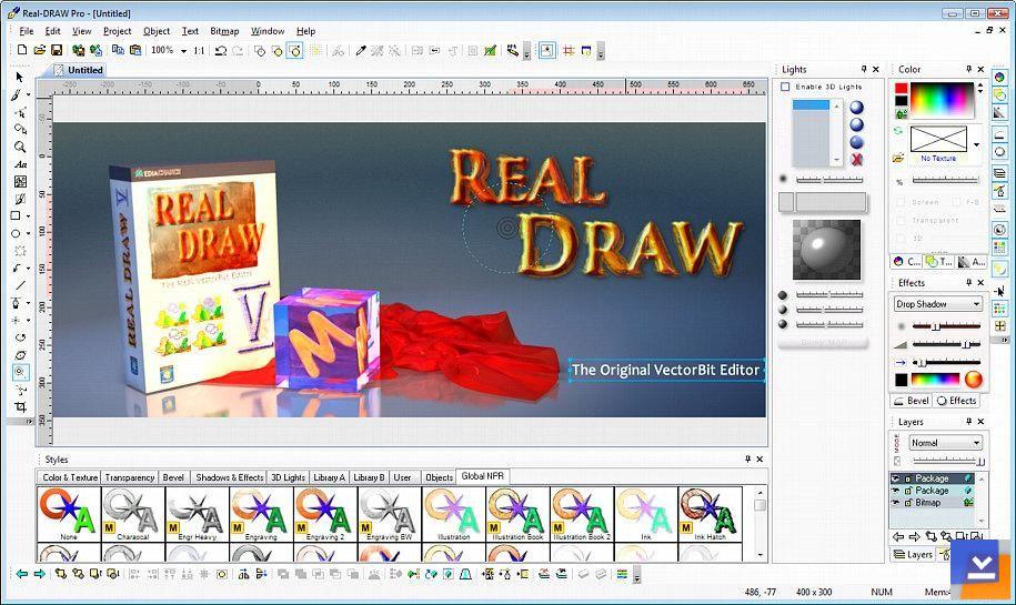 Real Draw Pro Indir Resim Düzenleyici Tamindir