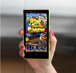 Subway Surfers Oyunu Windows Phone'lara Geliyor