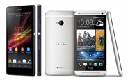 xperia z htc one
