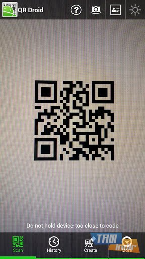 The application can decode the information stored within a qr code using two different methods
