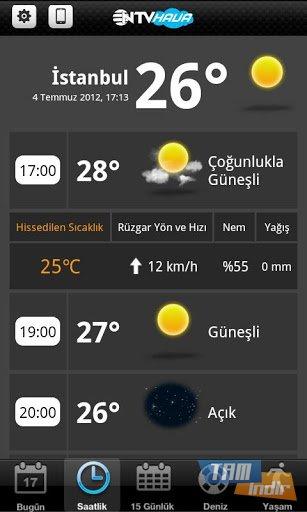 Ntv hava ekran görüntüleri